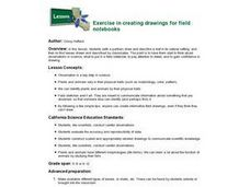 Exercise in creating drawings for field notebooks Lesson Plan