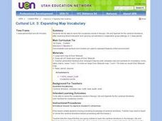 Expanding Map Vocabulary Lesson Plan