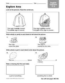 Explore Area English Learners 17.3 Worksheet