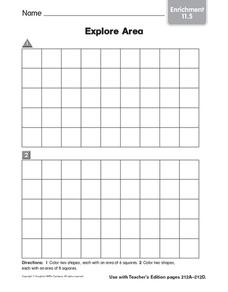 Explore Area: Enrichment Worksheet