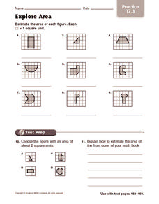 Explore Area: Practice Worksheet