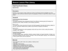 Exploring Ancient Greece Lesson Plan