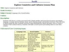 Exploring Countries and Cultures  Lesson Plan