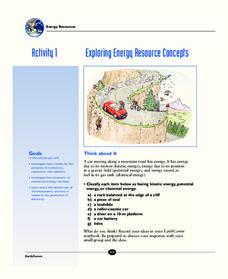 exploring energy resource concepts 9th 12th grade worksheet lesson planet. Black Bedroom Furniture Sets. Home Design Ideas