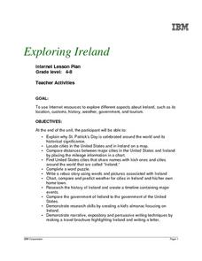 Exploring Ireland Lesson Plan