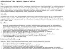 Exploring Japanese Seafood Lesson Plan