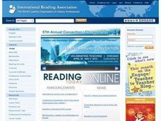 Exploring Literacy in Cyberspace Lesson Plan