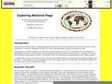 Exploring National Flags Lesson Plan
