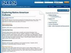 Exploring Native American Cultures Lesson Plan