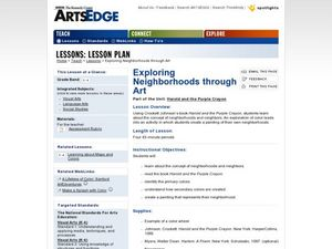Exploring Neighborhoods through Art Lesson Plan