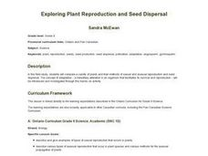 Exploring Plant Reporduction and Seed Dispersal Lesson Plan
