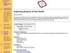 Exploring Regions of Our World Lesson Plan