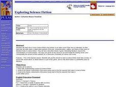 Exploring Science Fiction Lesson Plan