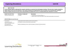 Exploring Simulations Lesson Plan