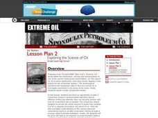 Exploring the Science of Oil Lesson Plan