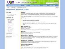 Exploring the West Using Fiction Lesson Plan