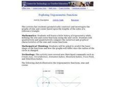 Exploring Trigonometric Functions Lesson Plan