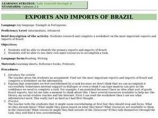 Exports and Imports of Brazil Lesson Plan
