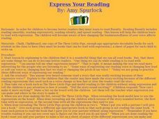 Express Your Reading Lesson Plan
