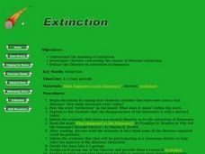 Extinction Lesson Plan