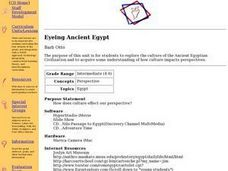 Eyeing Ancient Egypt Lesson Plan