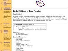 Facial Tattoos or Face Painting Lesson Plan