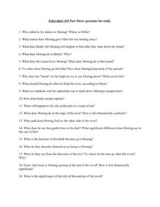 Printables Fahrenheit 451 Worksheets fahrenheit 451 worksheets davezan study questions part 3 9th 12th grade worksheet