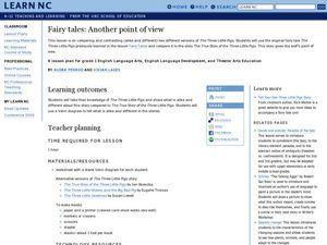 Fairy Tales - Another Point of View Lesson Plan