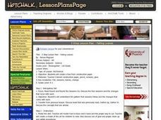 Falling Leaves - Art Lesson Plan Lesson Plan