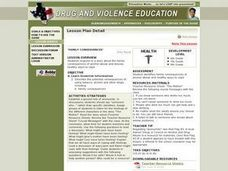 Family Consequences Lesson Plan
