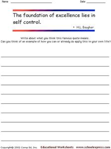 Famous Quotes 37 Worksheet