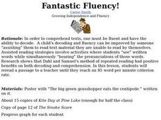 Fantastic Fluency! Lesson Plan