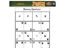 Fantasy Dominoes Worksheet
