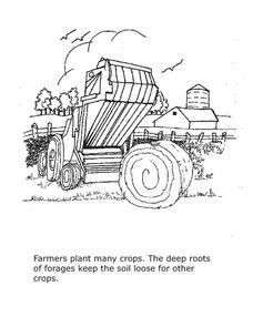 Farm Coloring Sheet 3 Lesson Plan