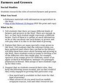 Farmers and Growers Lesson Plan