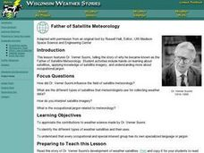Father of Satellite Meteorology Lesson Plan