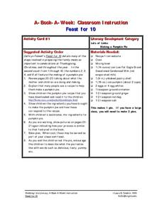Feast For 10 Lesson Plan
