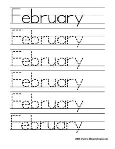 February Worksheet