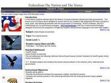 Federalism: The Nation and The States Lesson Plan