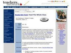 Feed The Whole Class Lesson Plan