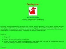 Feeding Red Lesson Plan