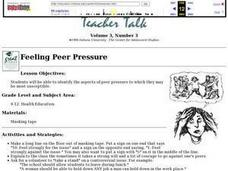 Feeling Peer Pressure Lesson Plan