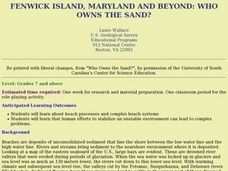 Fenwick Island, Maryland And Beyond: Who Owns the Sand? Lesson Plan