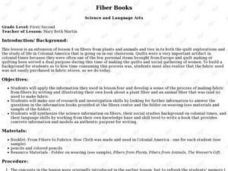 Fiber Books Lesson Plan