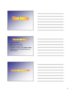 Fiber Optics Lesson Plan