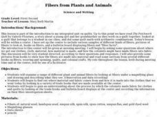 Fibers from Plants and Animals Lesson Plan
