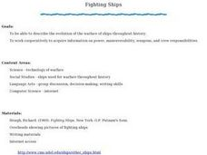 Fighting Ships Lesson Plan