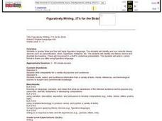 Figuratively Writing...It's for the Birds! Lesson Plan