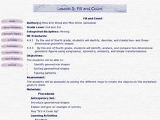 Fill and Count Lesson Plan