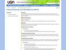 Financial Planning: Your Road Map Unit Lesson Plan